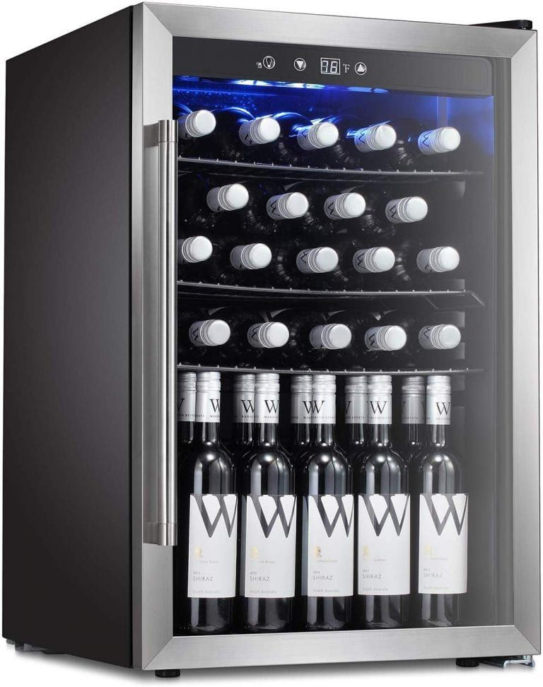 Top 10 Best Wine Coolers In 2020 Best Wine Coolers Wine Fridge Beverage Fridge