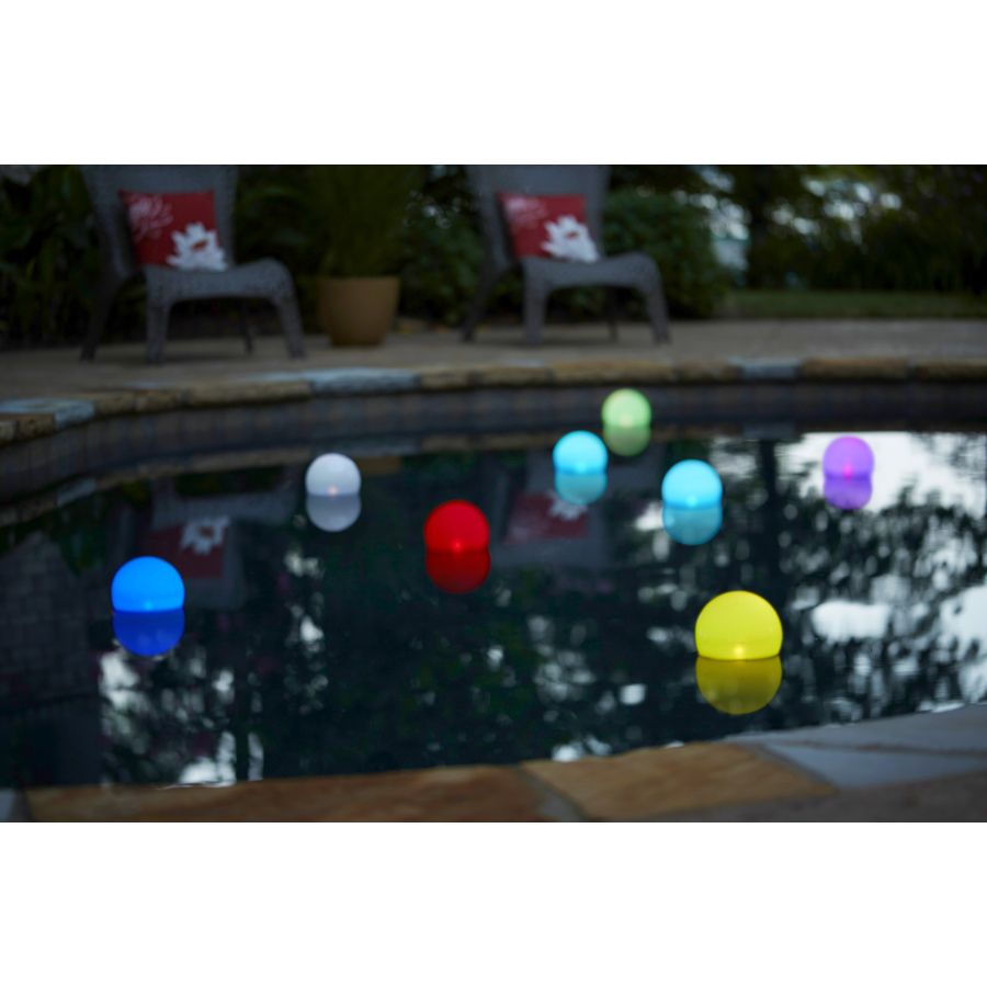 Shop Litex Multicolor Solar Powered Led Deck Lights At Lowes Com