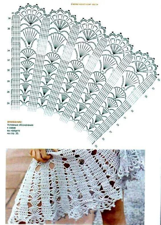 Falda crochet | Blusas | Pinterest | Falda, Tejido y Ganchillo