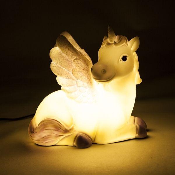 Mystical Unicorn Table Lamp LED Light Kawaii Cute Novelty Night ...