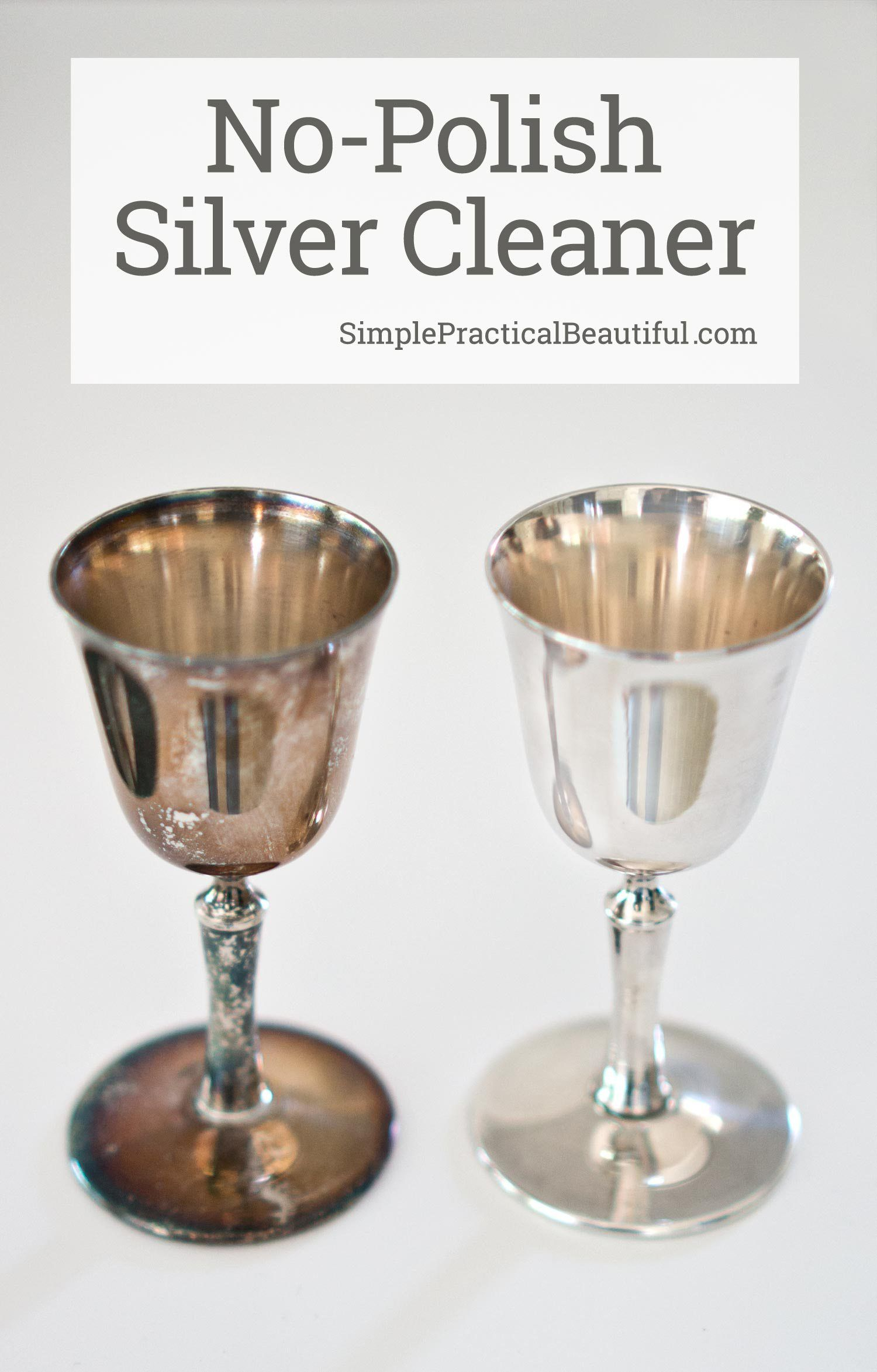 Clean Silver Without Polish Cleaning Hacks Clean Dishwasher