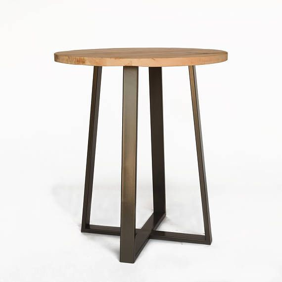 Standing Bar Table Height Pub Round Cafe