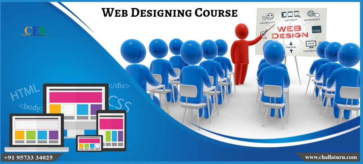 The Webdesigning Course Is Delivered As A Hands On Computer Based Workshop And Presentation Students W Web Design Training Web Design Course Learn Web Design