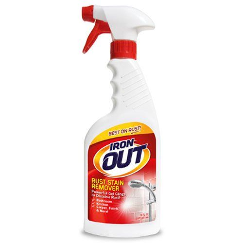 Super Iron Out Li0616pn Rust Stain Remover16 Fluid Ouncesmulti Purpose Rust Stain Remover For Toilets Sink Remove Rust Stains Stain Remover Stain Remover Spray