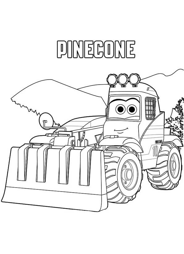 Pinecone Kleurplaat Disney Coloring Pages Coloring Pages