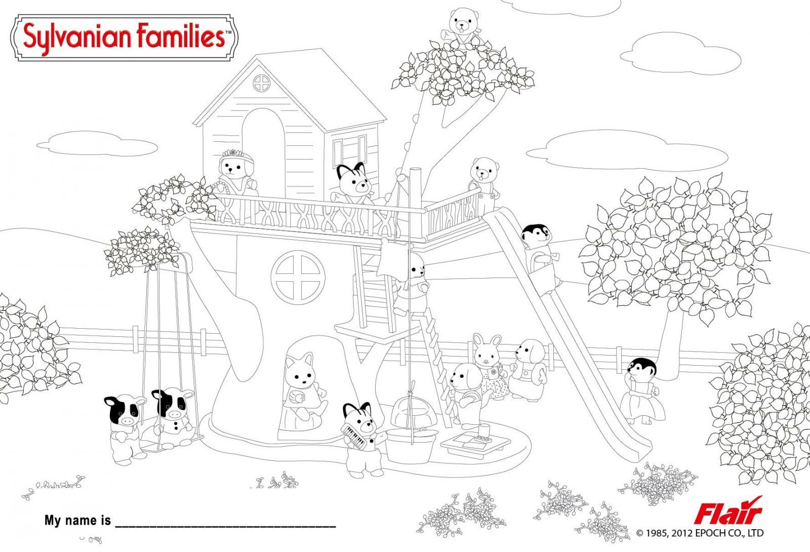 treehouse tv coloring pages - photo#18