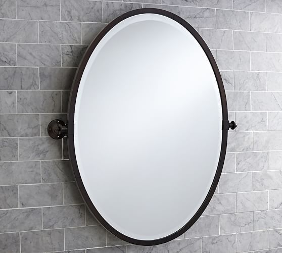 Kensington Pivot Oval Mirror Oval Mirror Oval Mirror Bathroom Bath Mirror