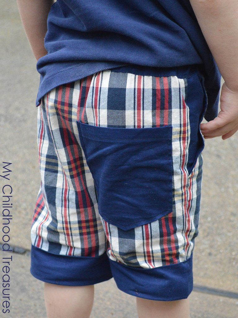 Boys shorts sewing pattern cuffed p303 boys sewing patterns smart stylish and easy boys shorts sewing pattern this sewing pattern is designed for beginners and includes step by step illustrated instructions jeuxipadfo Choice Image