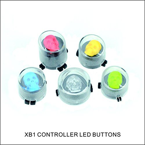 Xbox One Abxy Led Buttons For Xbox One Controller Mod Kits Skull