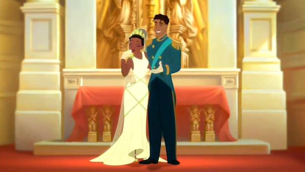 Tiana and Naveen\'s human wedding | Disney Princess | Pinterest ...