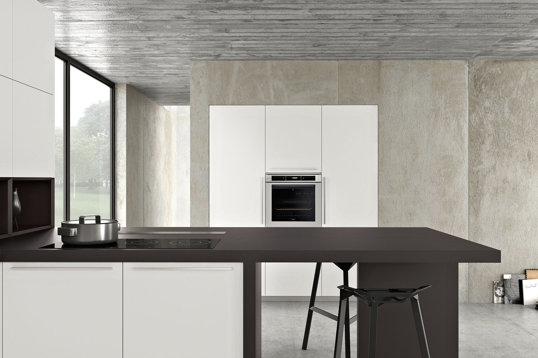 Armony cucine - Model Rho | Model_Kitchens with handles | Pinterest