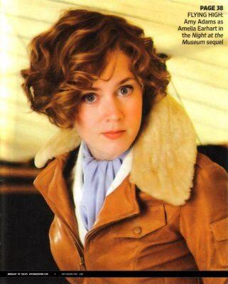 Amy Adams As Amelia Earhart Amy Adams Hair Actress Amy Adams