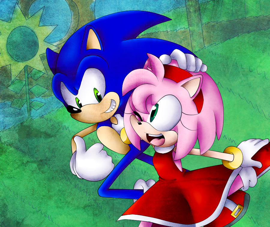 Training by SonicsChilidog on DeviantArt Sonic, amy
