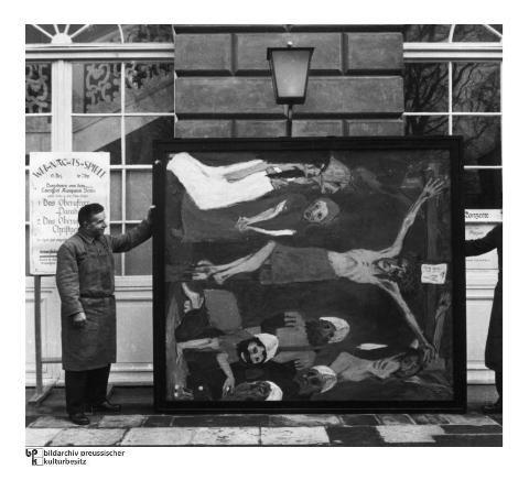 Badspiegel München entartete kunst ns propagandaausstellung 1937 in münchen bild 10