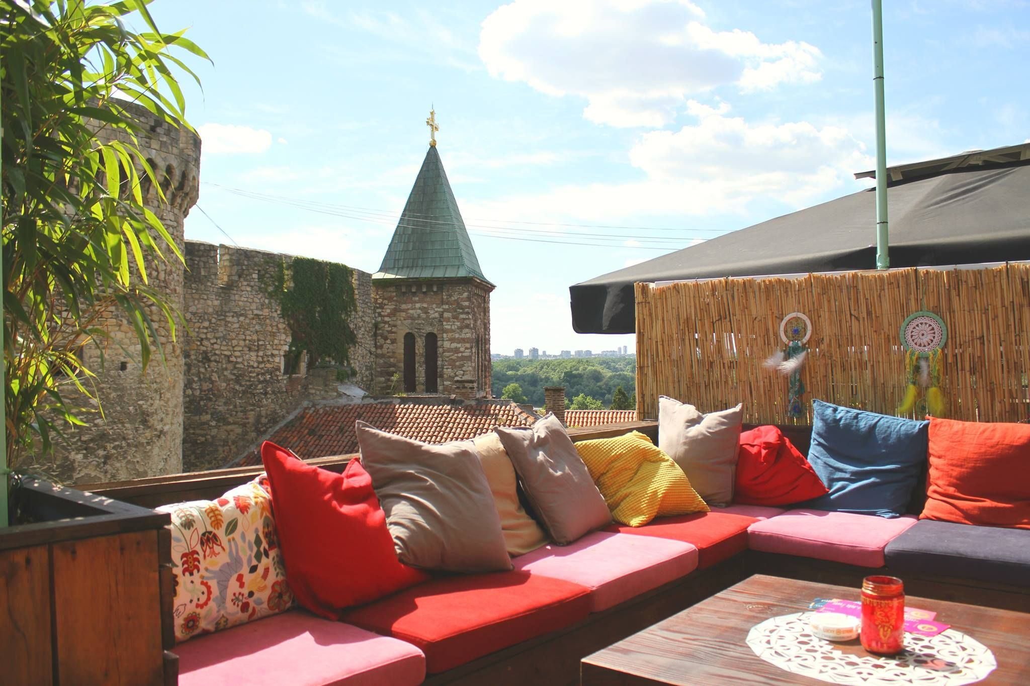 Boho Bar Is Belgrade S New Summer Hotspot Located In The Middle Of The Kalemegdan Fortress The City S Most Famous Attrac Belgrade Fortress Boho Bar White City