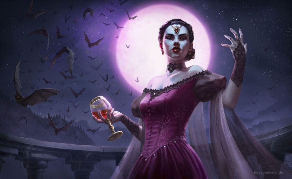 The Midnight Countess, Luisa Preissler on ArtStation at ...