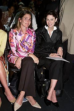 Aerin Lauder and Marina Rust.