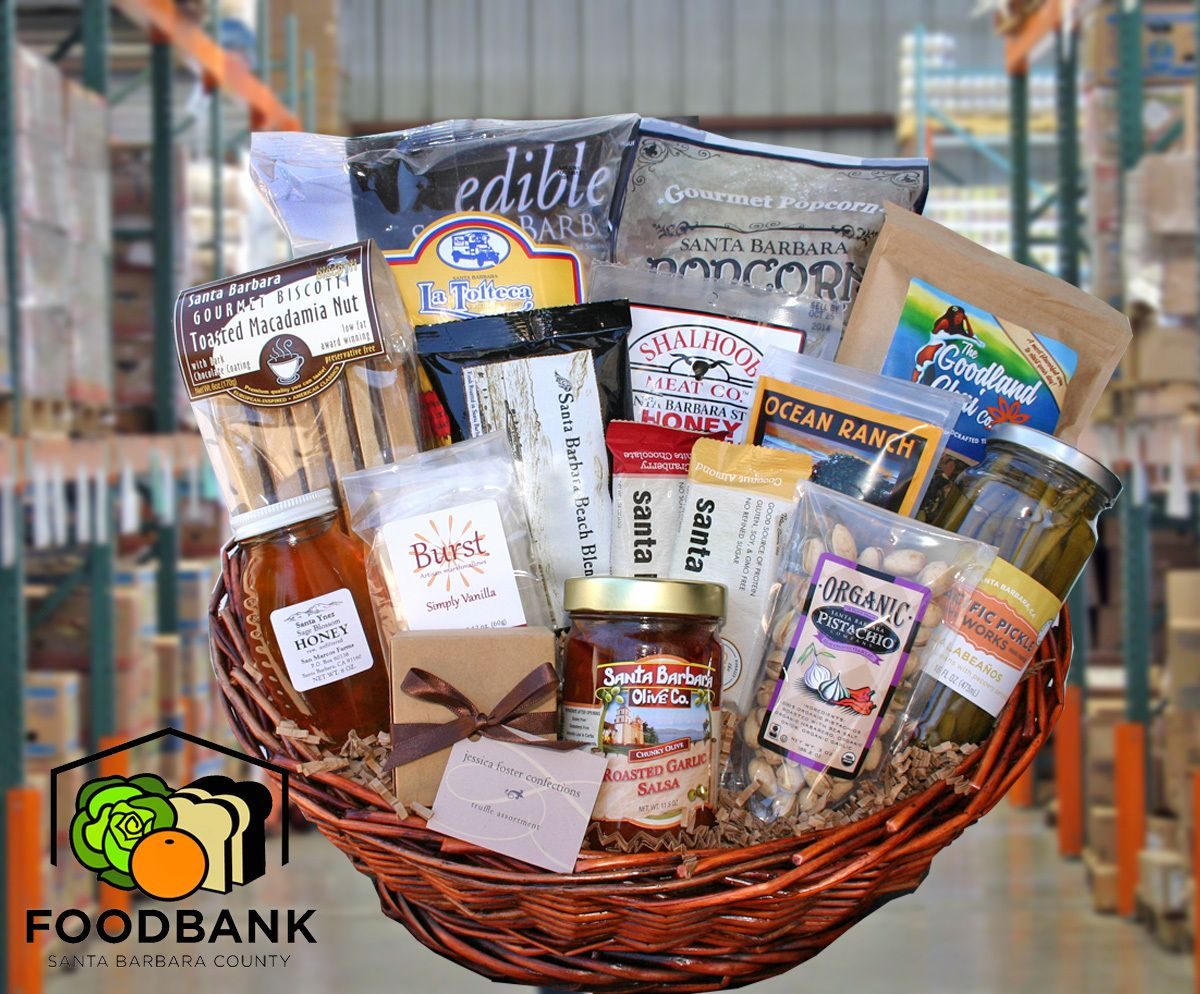 Foodbank basket holiday baskets client holiday gifts