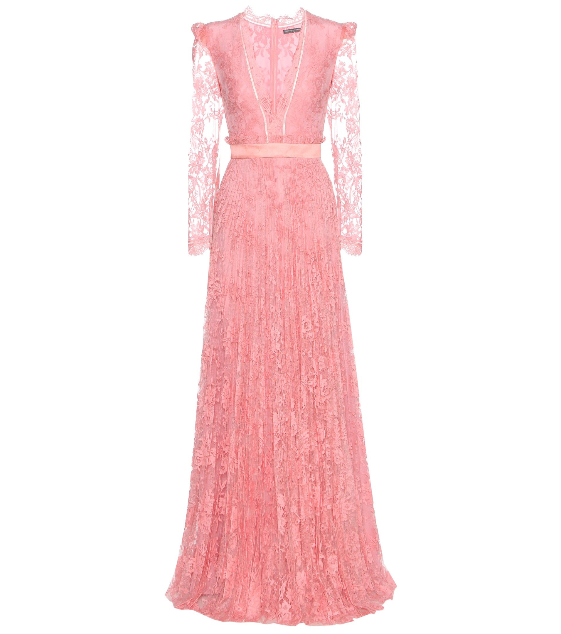 Alexander McQueen - Lace gown - Opt for a showstopping, pretty-in ...