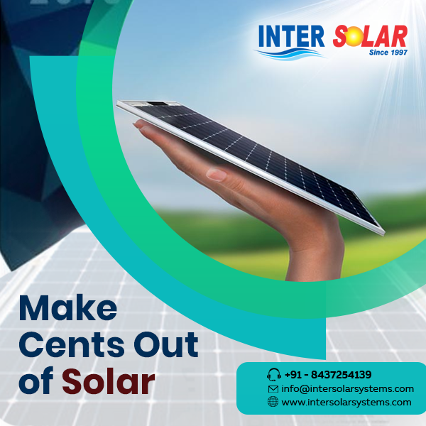 Inter Solar Is The Top Notch Solar Panel Dealers In Ghaziabad That Offers The Superlative Quality Of Solar Panels At Affordable In 2020 Solar Energy Solar System Solar