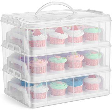 36 Cupcake Carrier Inspiration It's A Cupcake Carrier But The Cupcake Trays Can Be Removed To Design Decoration