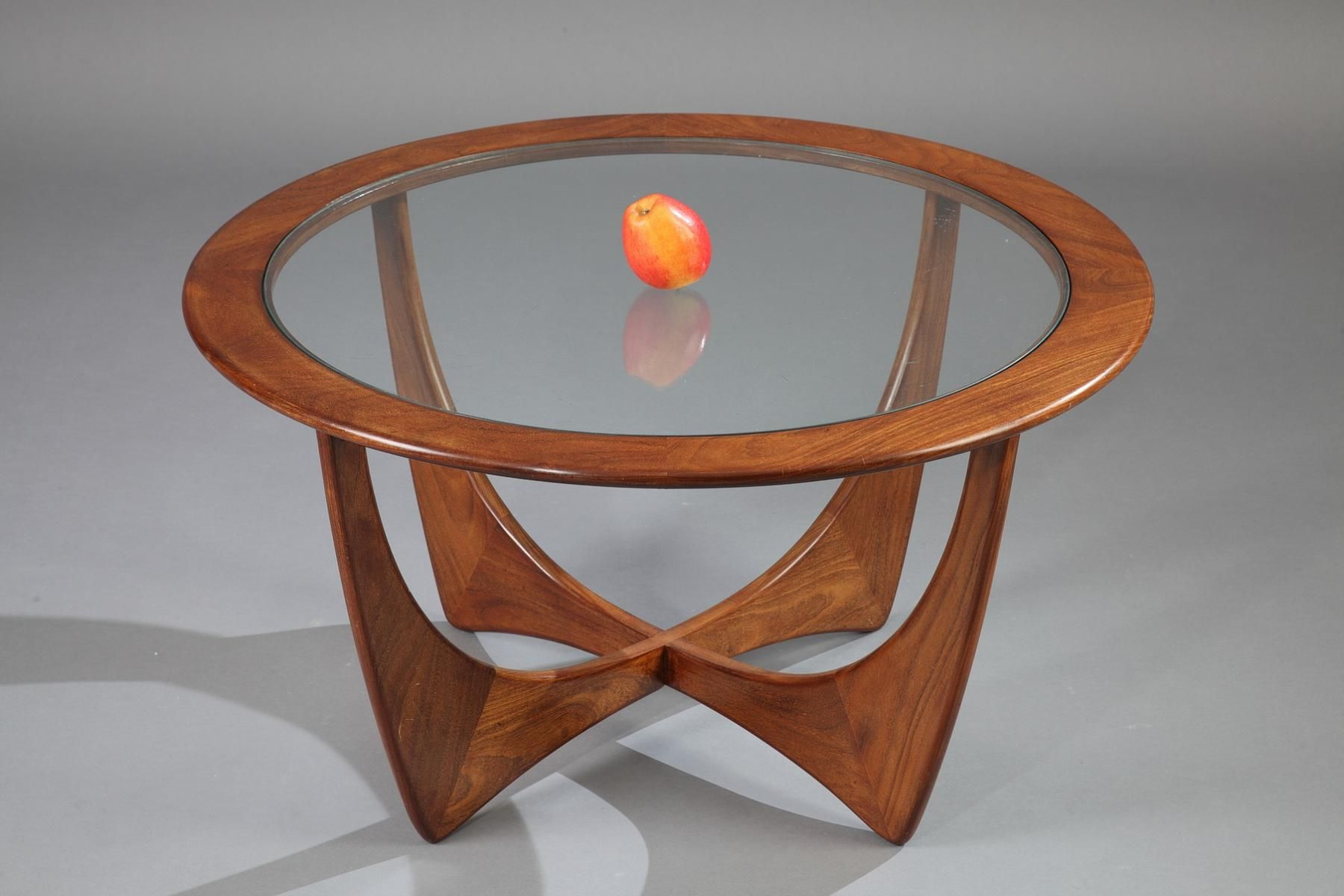 Round Astro Teak Coffee Table by Victor Wilkins for G Plan