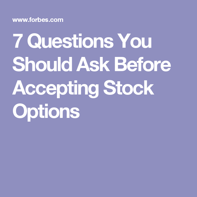15 Crucial Questions about Stock Options