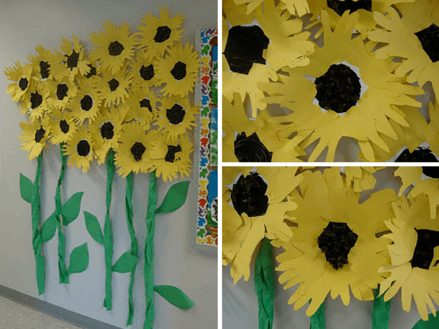 Construction paper flowers ideas craft ideas pinterest paper sunflowers 10 flower craft ideas how to make construction paper flowers mightylinksfo
