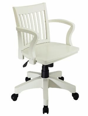 Nice White Wooden Office Chair White Wood Office Chair | Home Office | Pinterest  | White Wood