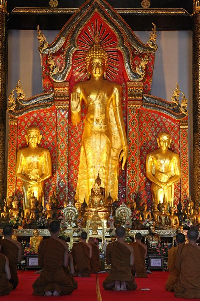 Temple in Chiang Mai--Thailand
