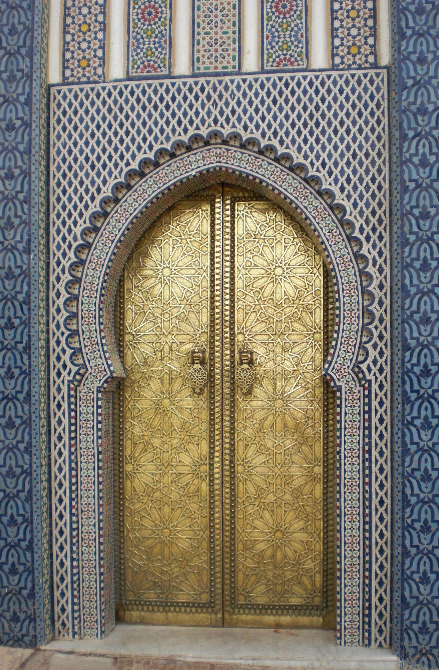 Door in morocco doorsgates u hardware pinterest morocco and
