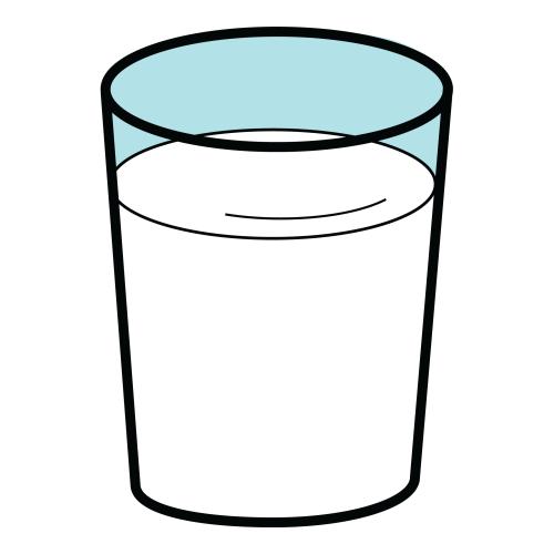 VASO de leche - Imagenes PNG