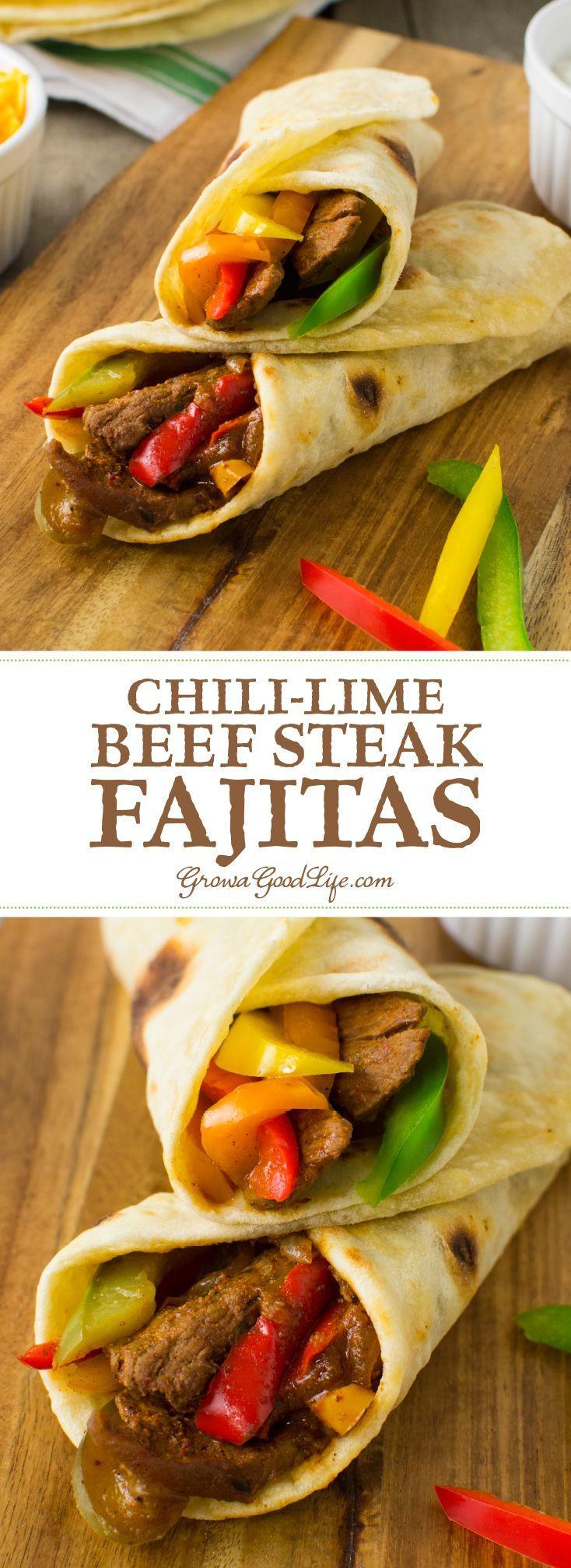 chili lime beef steak fajitas steak fajitas beef steak sandwich ...
