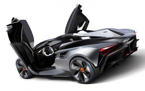 futuristic car Ondrej Jirec Lamborghini Perdign Perdign