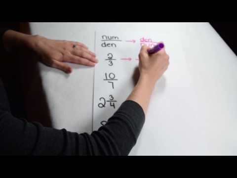 Dividing Fractions - Reciprocals - YouTube