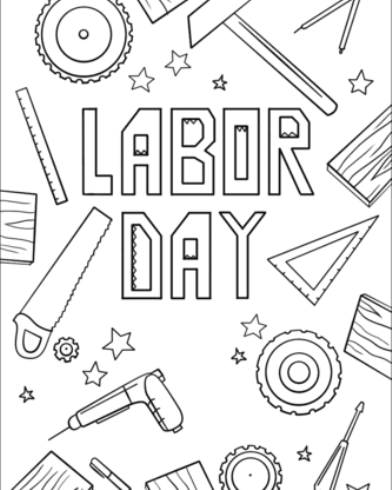 Labor Day 2020 Coloring Pages Coloring Pages Color Coloring Sheets