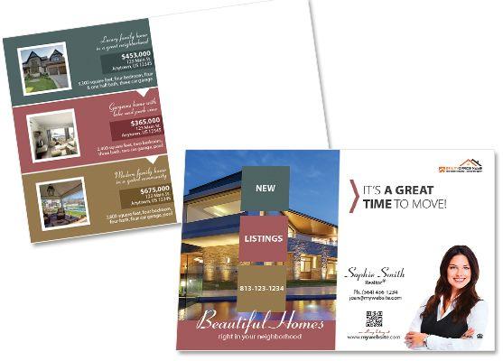 real estate postcards creative real estate postcard template modern postcards realtor postcards