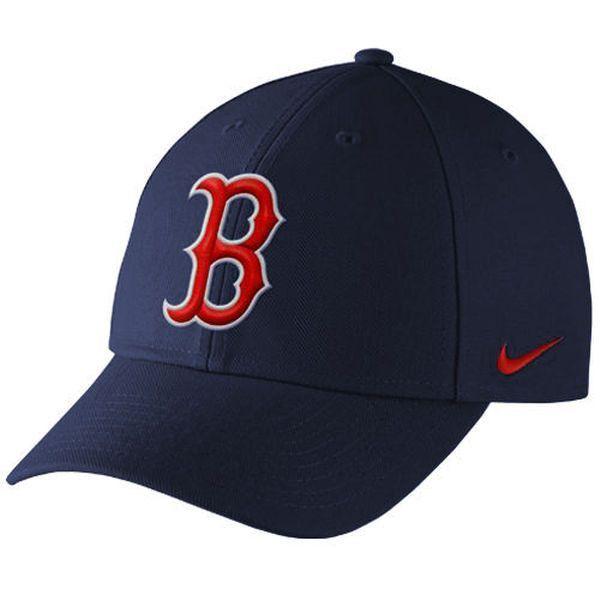 Men s Boston Red Sox Nike Navy Wool Classic Adjustable Dri-FIT Hat ... 4ec39cb26fb
