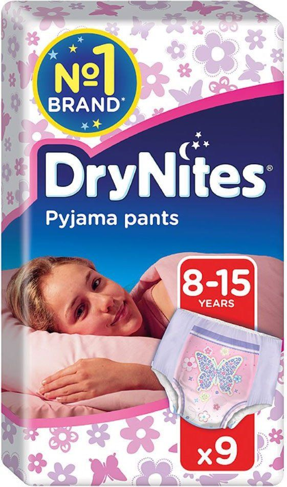 Huggies Dry Nites Pyjama Pants For Girls 8 15yrs 9 Huggies