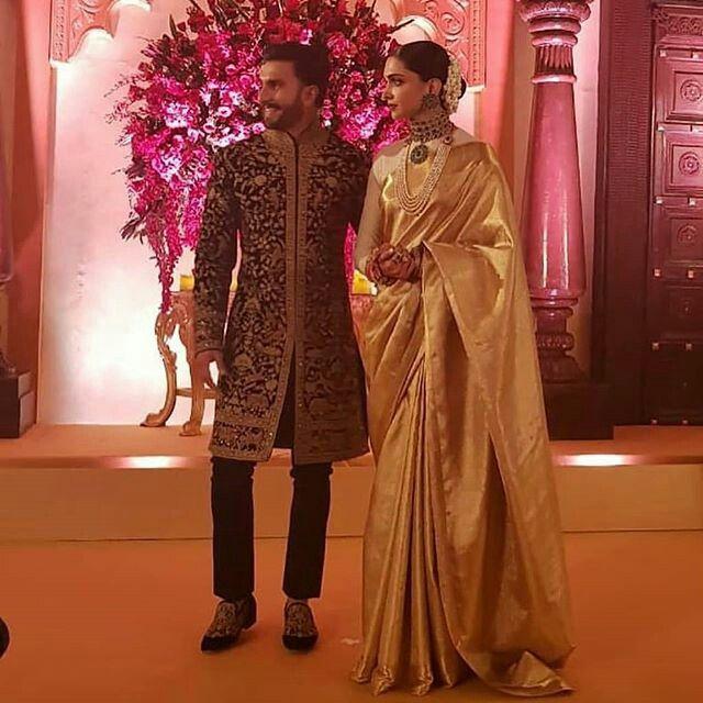 Pin by Akanksha Bisht on deepika | Groom dress men ...
