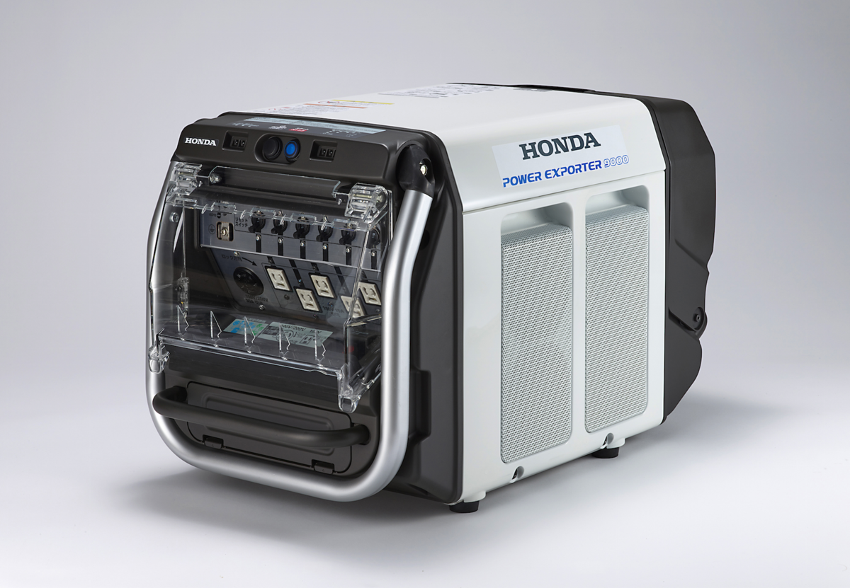 Honda's hydrogen fuel cell sedan can power your entire