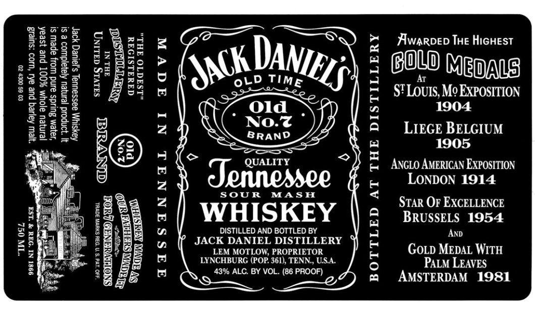 Jack Daniel/'s Whisky Name Card Holder NEW