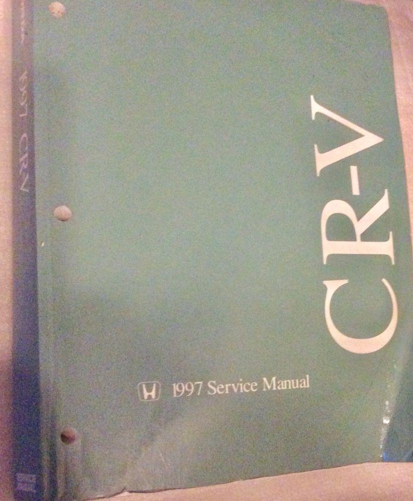 1997 Honda CR-V Service Manual Repair OEM Auto