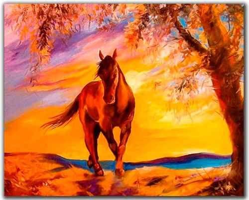caballos pintados a mano - Buscar con Google