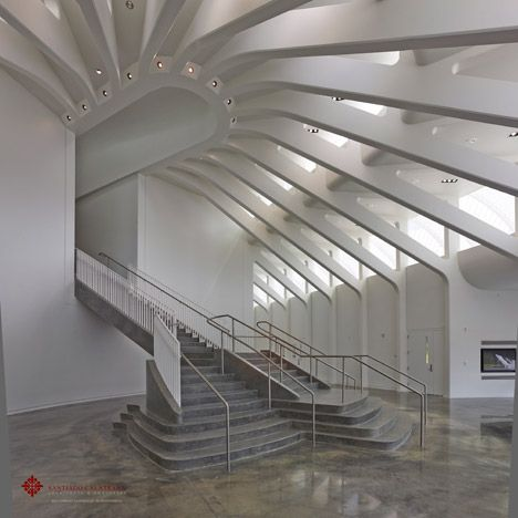 Santiago Calatrava Completes Florida Polytechnic University Architecture Interior