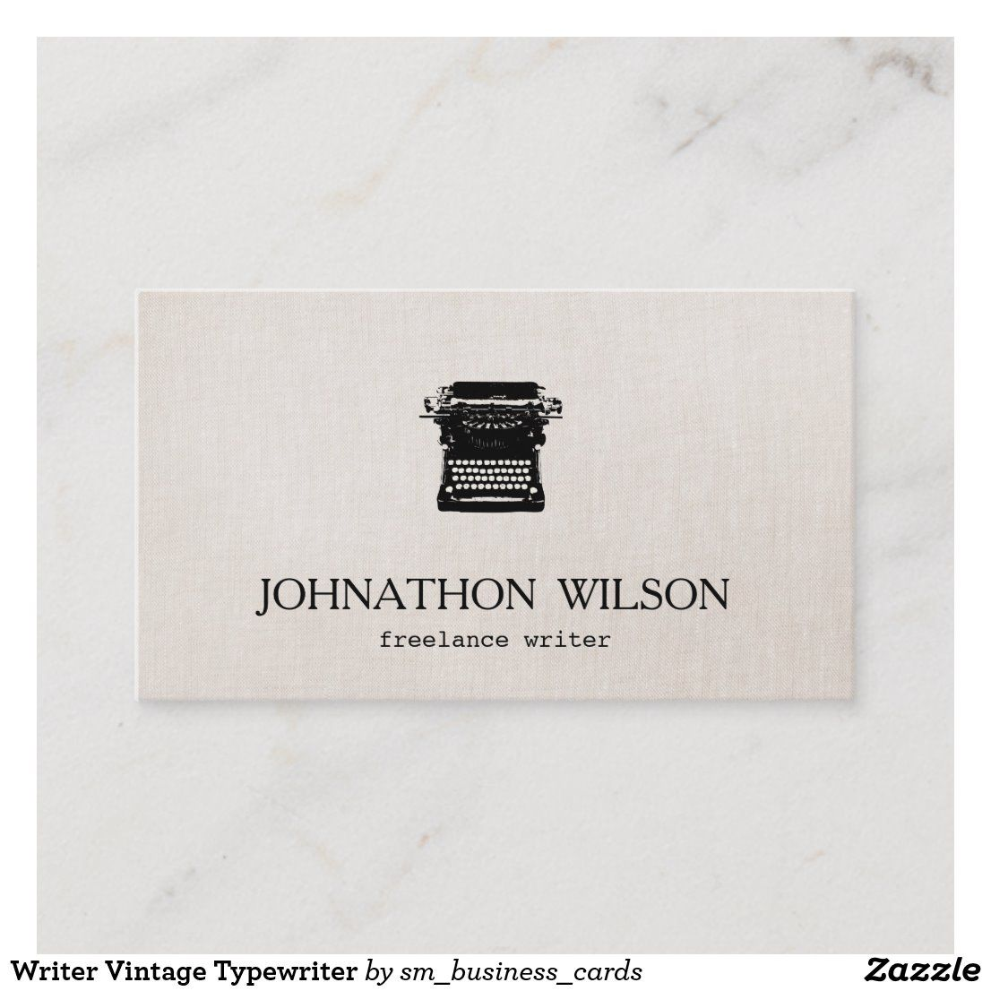 Pin On Author Writer Business Card Templates