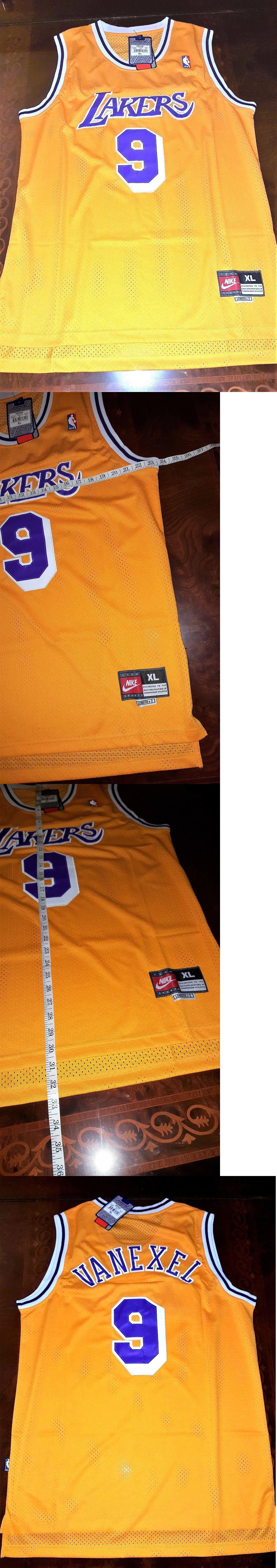 282e2dc761a ... jersey Basketball-NBA 24442 Throwback Retro Nick Van Exel Los Angeles  Lakers Yellow Nba Mens ...