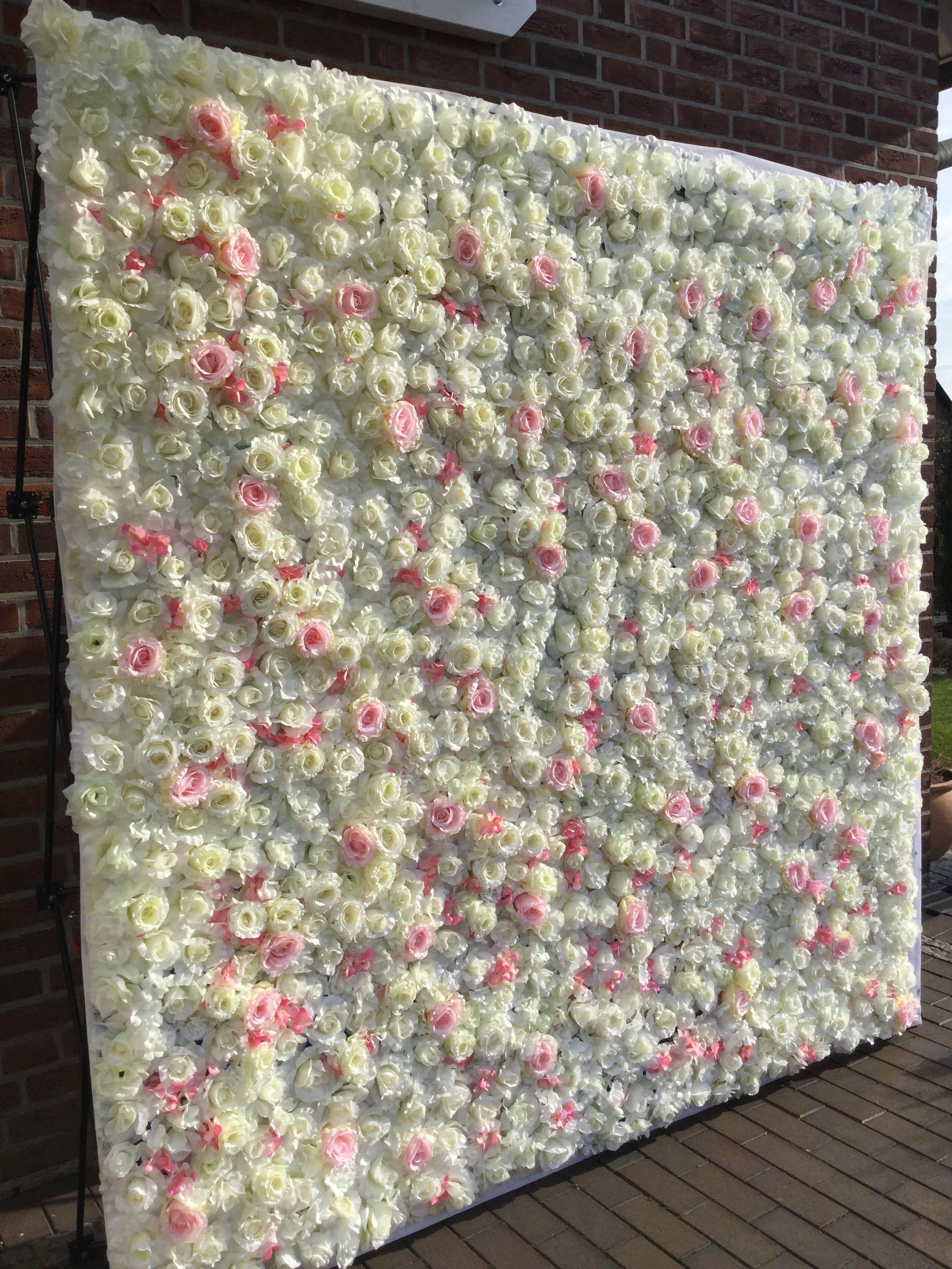 Blumenwand Hochzeit Candybar Fotohintergrund Mieten Business Ideas