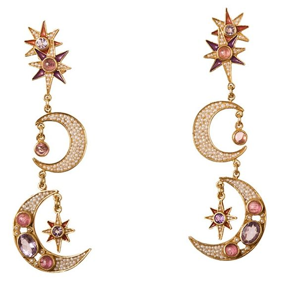Diego Percossi Papi | Sun and Moon Earrings - No Stock DG-1832