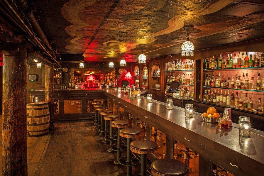 13 Best Speakeasy Bars Across America Our Favorite Speakeasies Architectural Digest Speakeasy Bar Kitchen Bar Design Speakeasy Decor